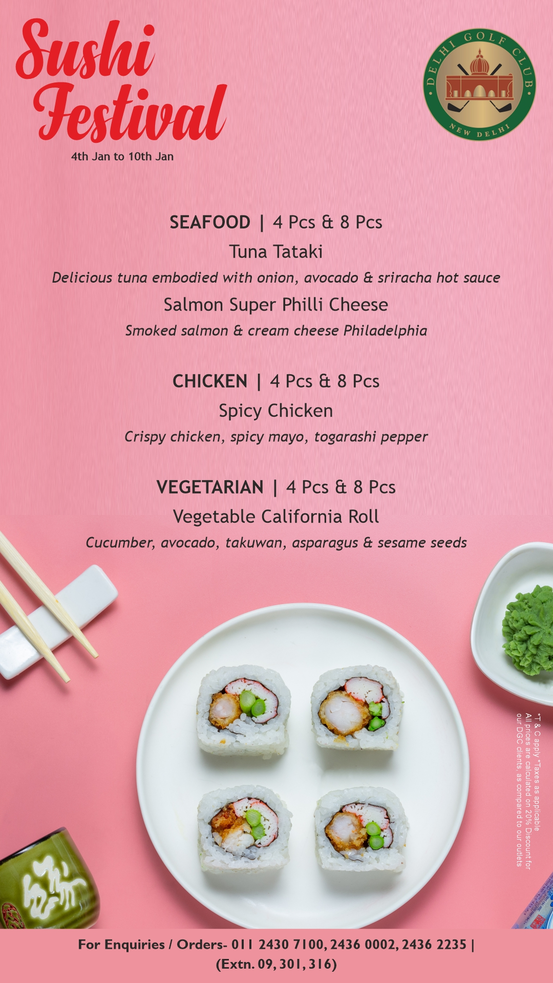 Sushi Festival DGC