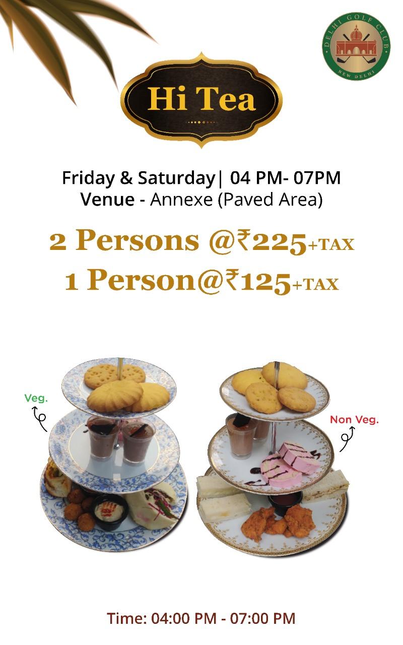 Hi Tea FRI-SAT 4-6PM